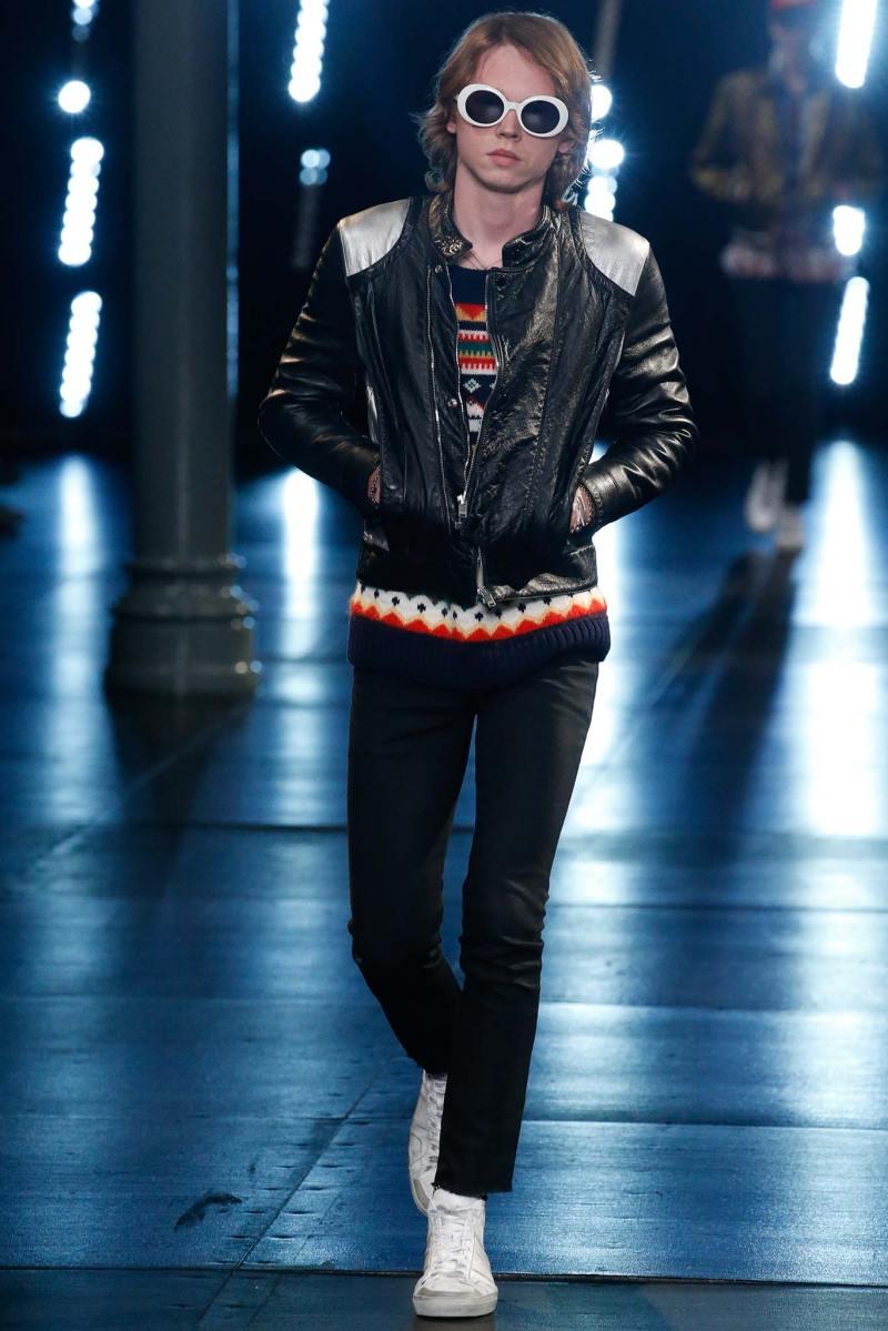 Saint Laurent Menswear SS 2016 Paris (32)
