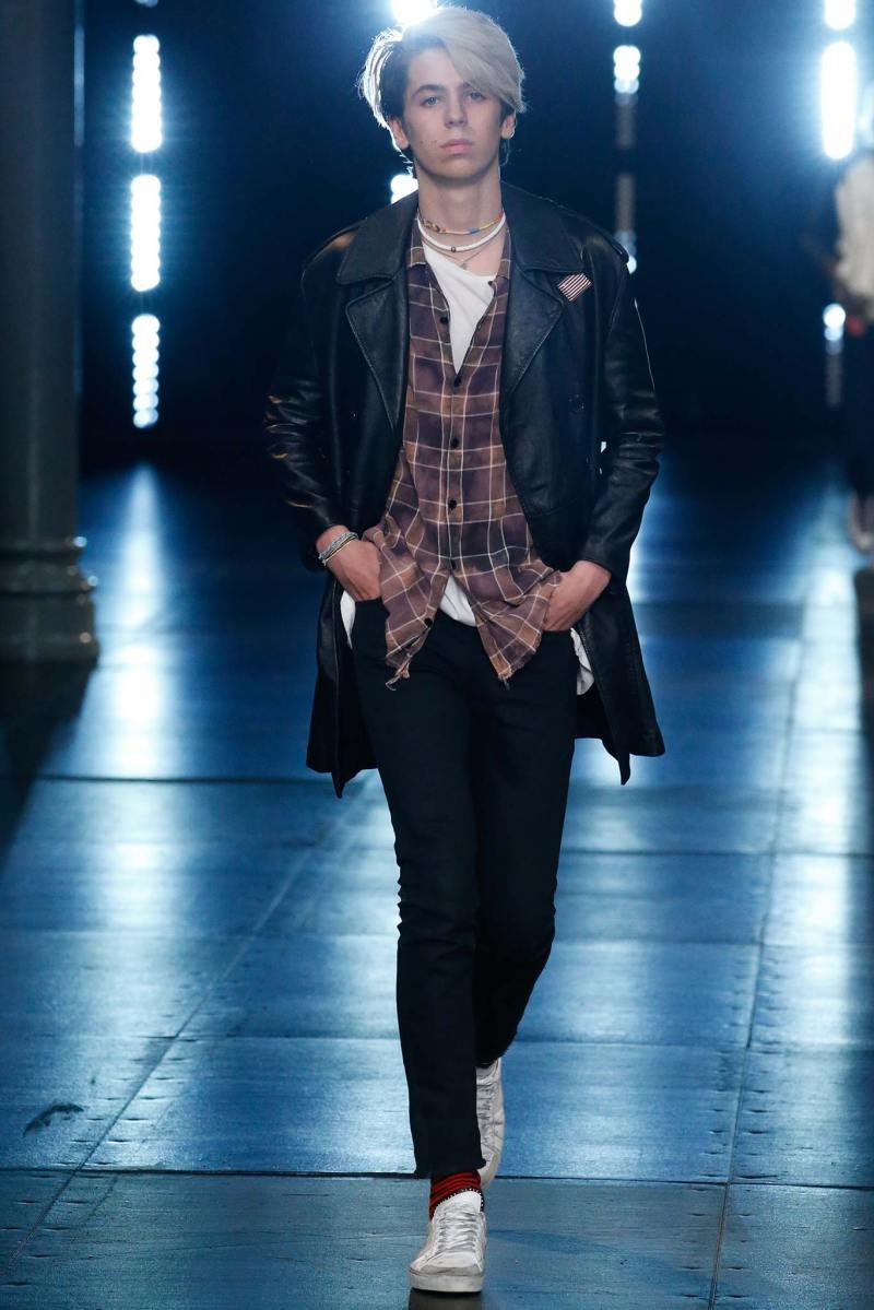 Saint Laurent Menswear SS 2016 Paris (42)