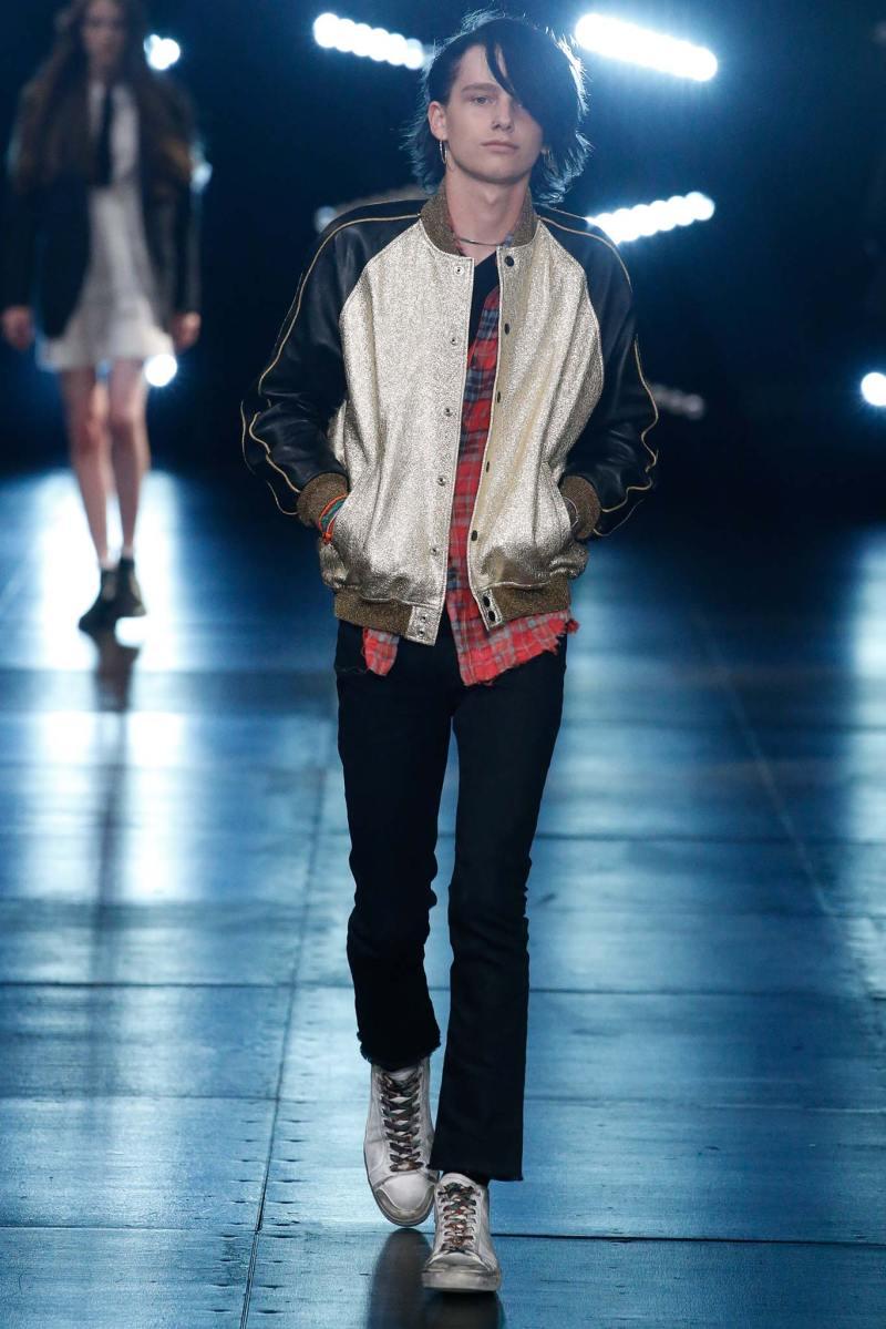 Saint Laurent Menswear SS 2016 Paris (43)
