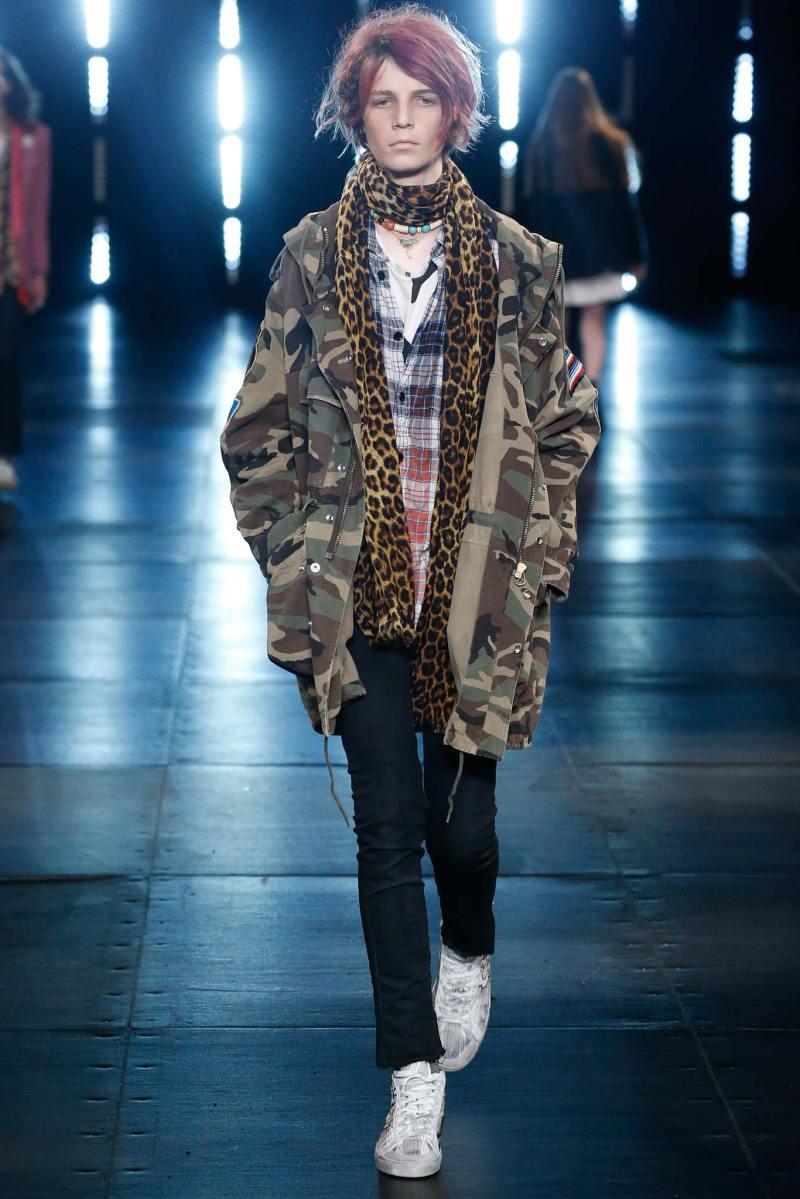Saint Laurent Menswear SS 2016 Paris (46)