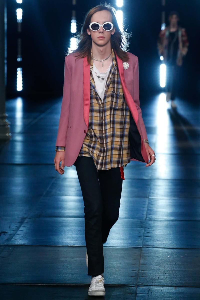 Saint Laurent Menswear SS 2016 Paris (47)