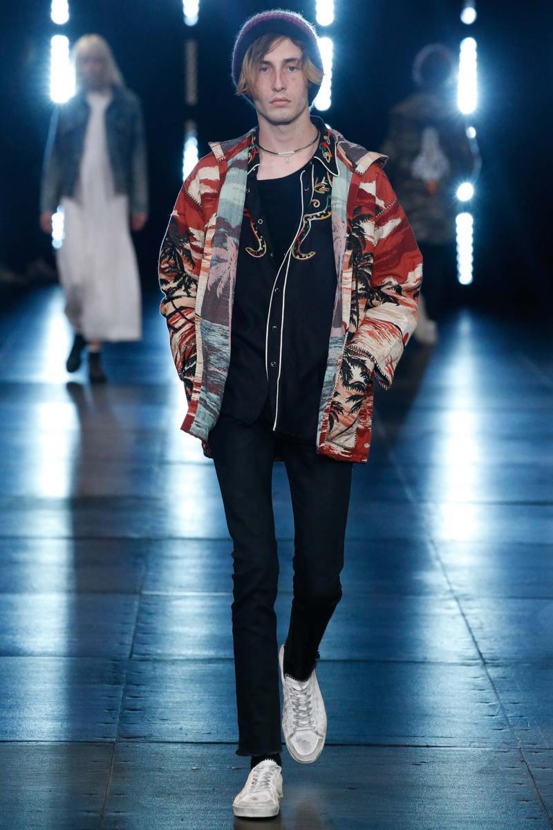 Saint Laurent Menswear SS 2016 Paris (48)