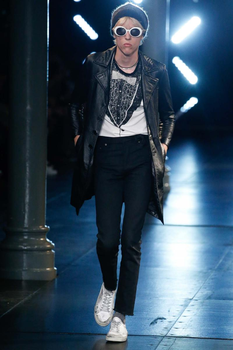 Saint Laurent Menswear SS 2016 Paris (70)