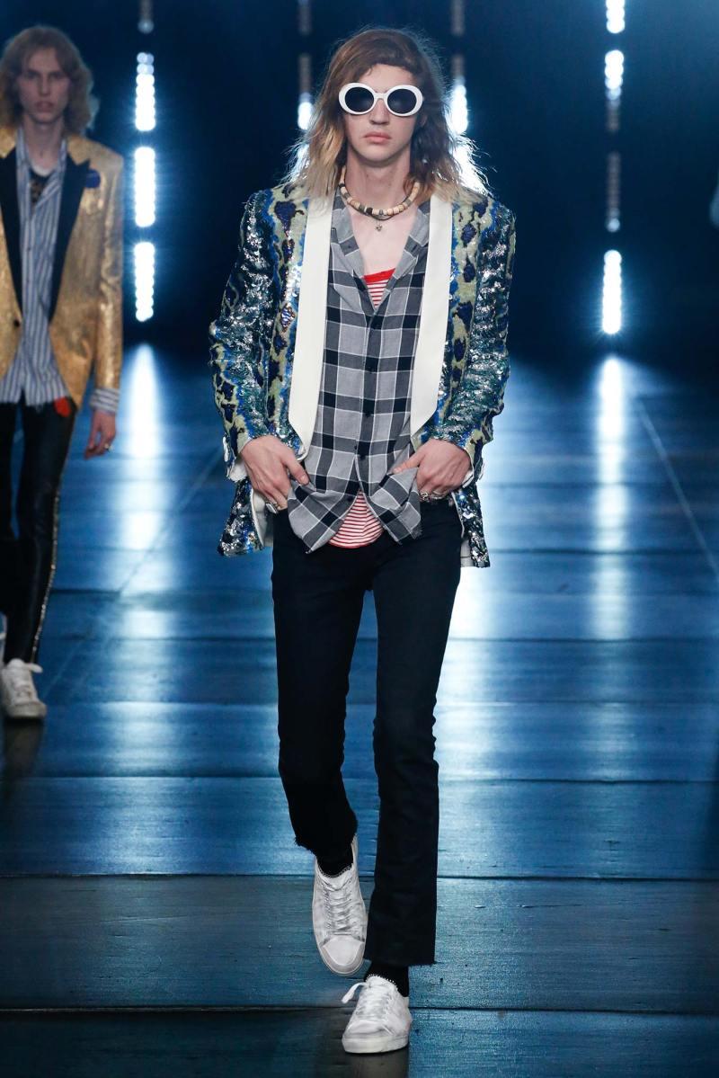 Saint Laurent Menswear SS 2016 Paris (76)