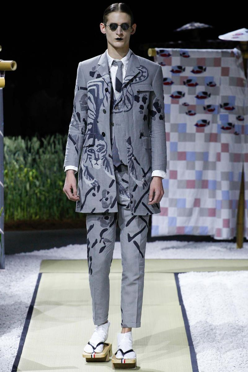 Thom Browne Menswear SS 2016 Paris (11)