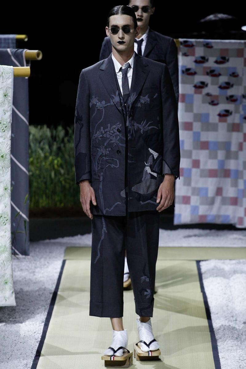 Thom Browne Menswear SS 2016 Paris (12)