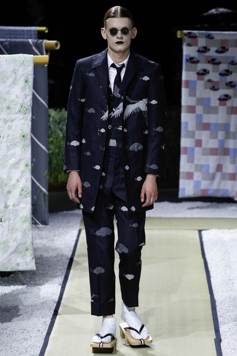 Thom Browne Menswear SS 2016 Paris (14)