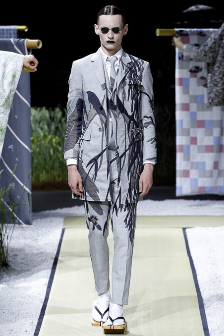 Thom Browne Menswear SS 2016 Paris (3)