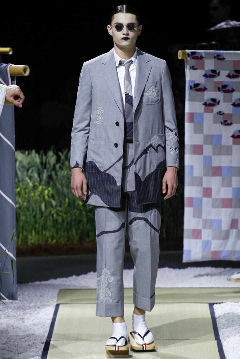 Thom Browne Menswear SS 2016 Paris (5)