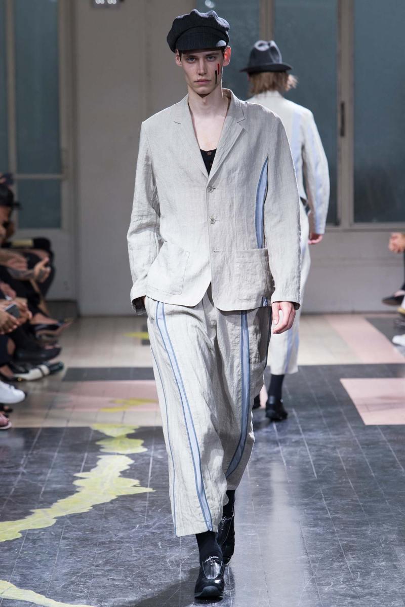 Yohji Yamamoto Menswear SS 2016 Paris (22)