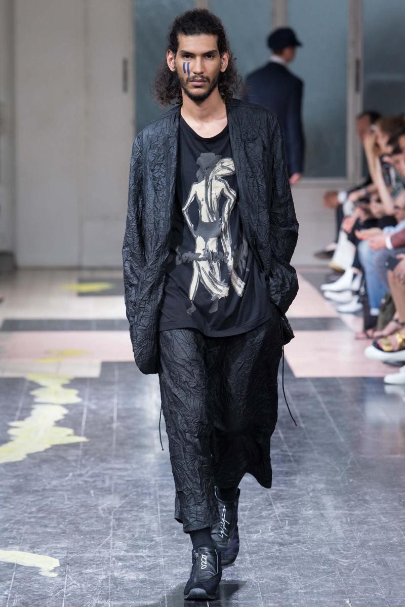 Yohji Yamamoto Menswear SS 2016 Paris (30)