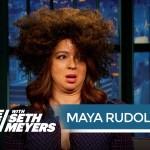 Maya Rudolph as Rachel Dolezal, UGH YES!