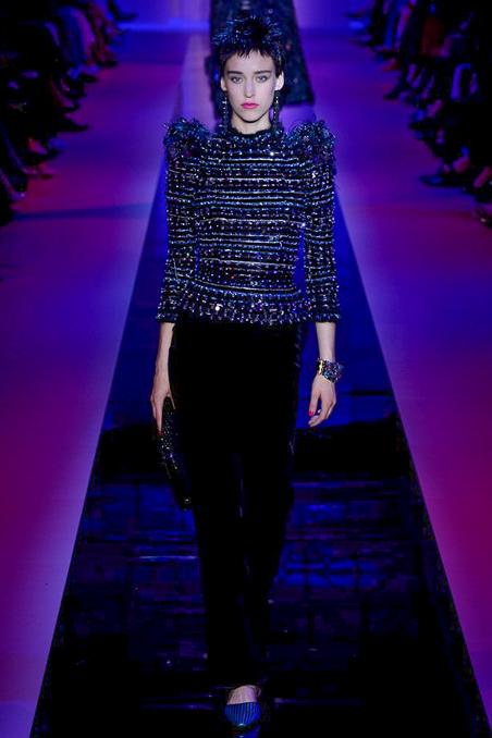 Armani Privé Haute Couture FW 2015 Paris (24)