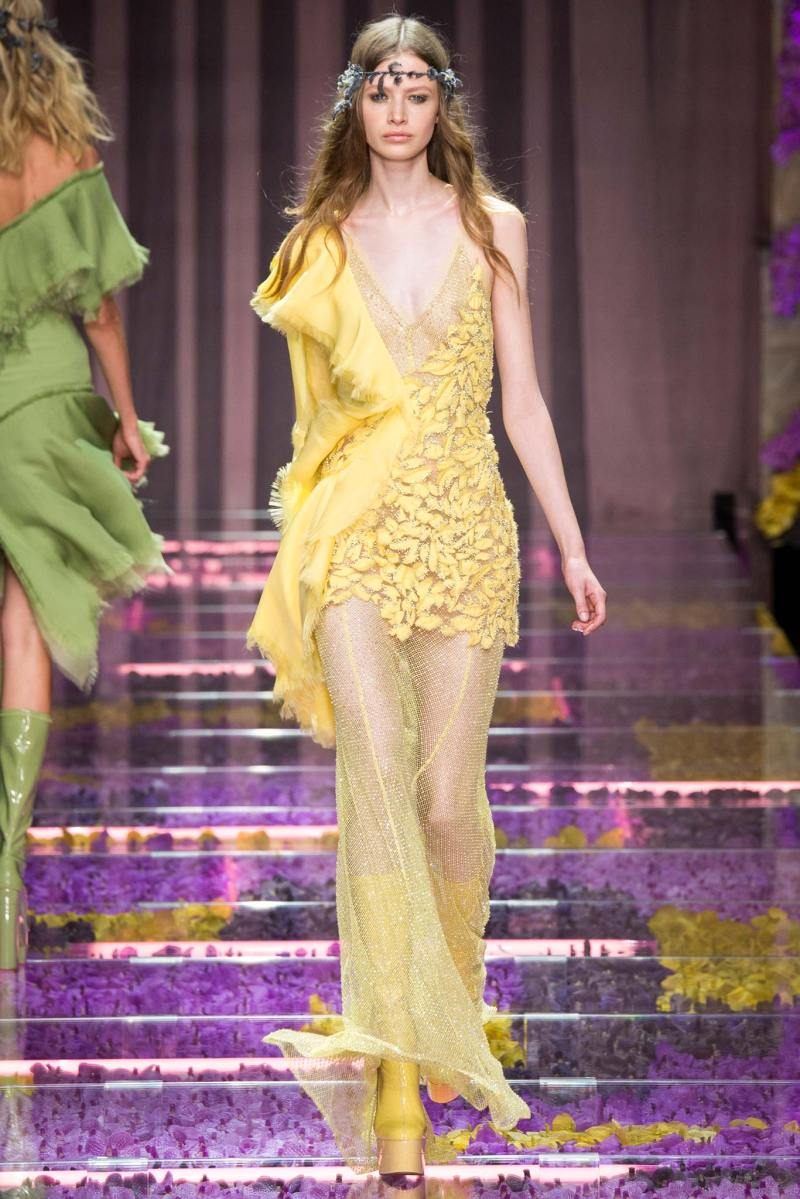 Atelier Versace Haute Couture FW 2015 Paris (6)