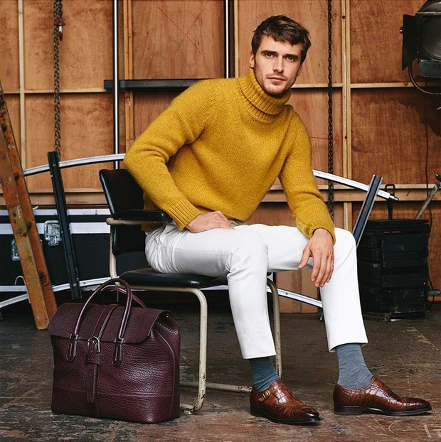 Bally's FW 2016 Ad Campaign ft. Clement Chabernaud