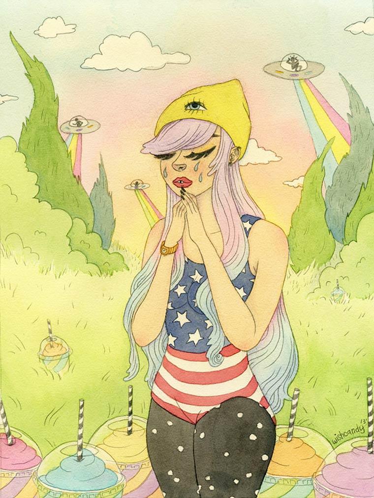 Illustrations by artist Sashiko Yuen (3)