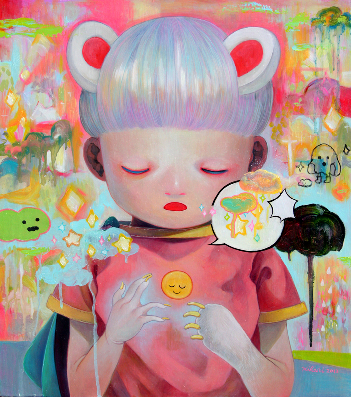 Paintings by Hikari Shimoda (2)
