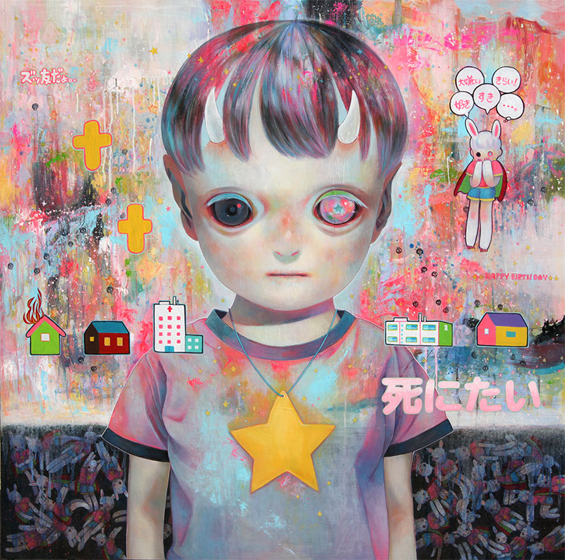 Paintings by Hikari Shimoda (5)