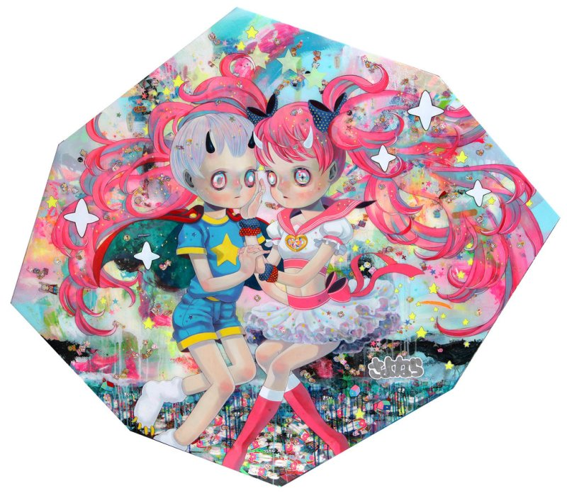 Paintings by Hikari Shimoda (8)