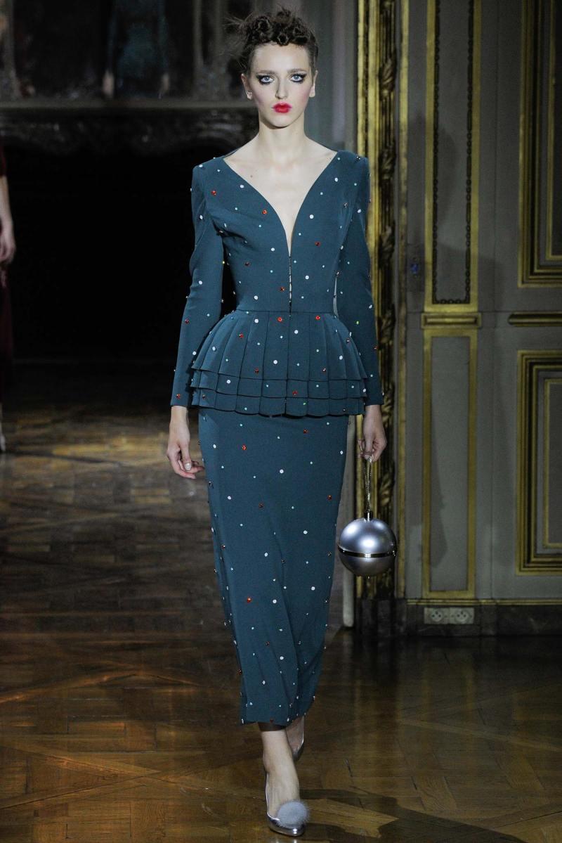 Ulyana Sergeenko Haute Couture FW 2015 Paris (11)