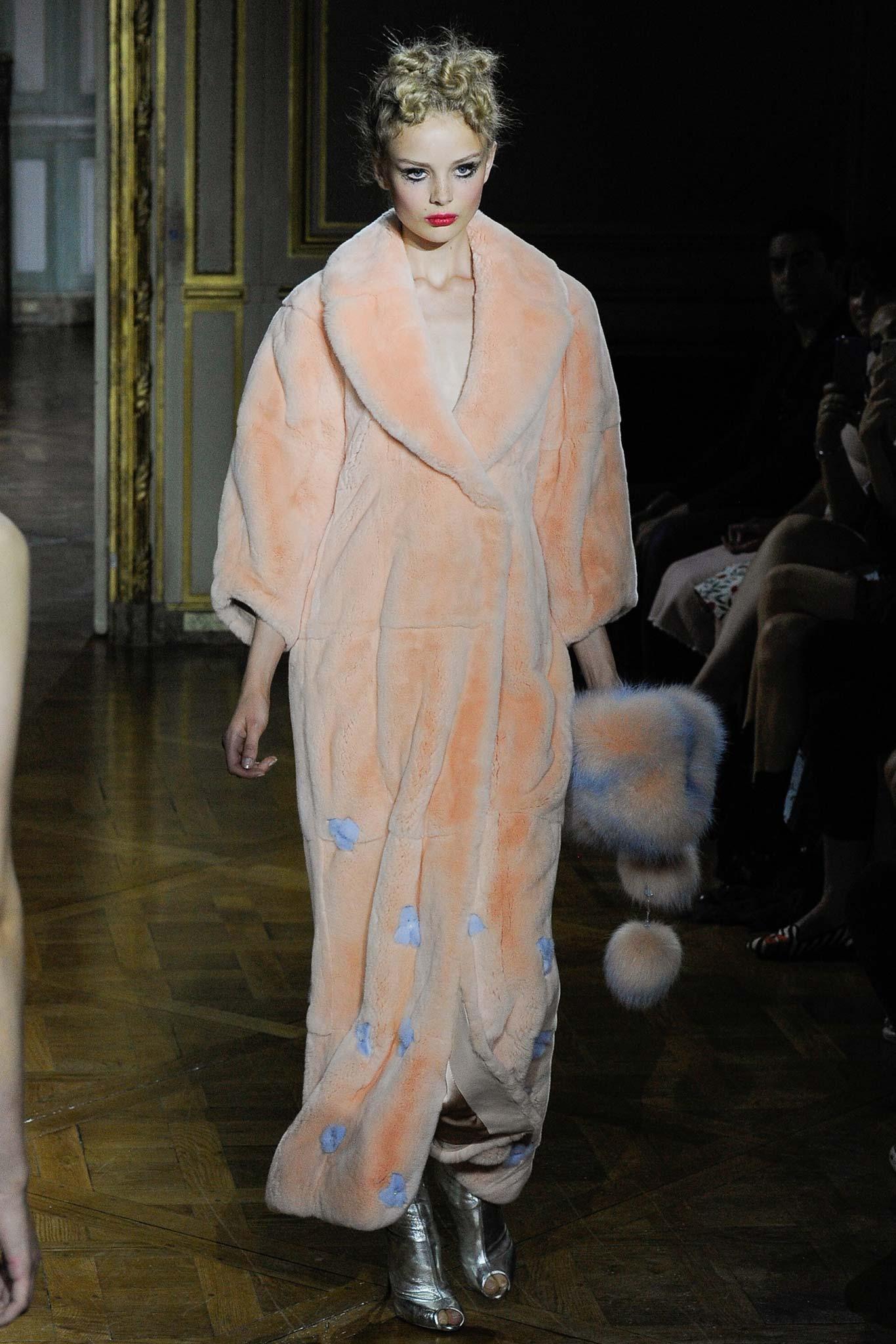 Ulyana Sergeenko Haute Couture FW 2015 Paris