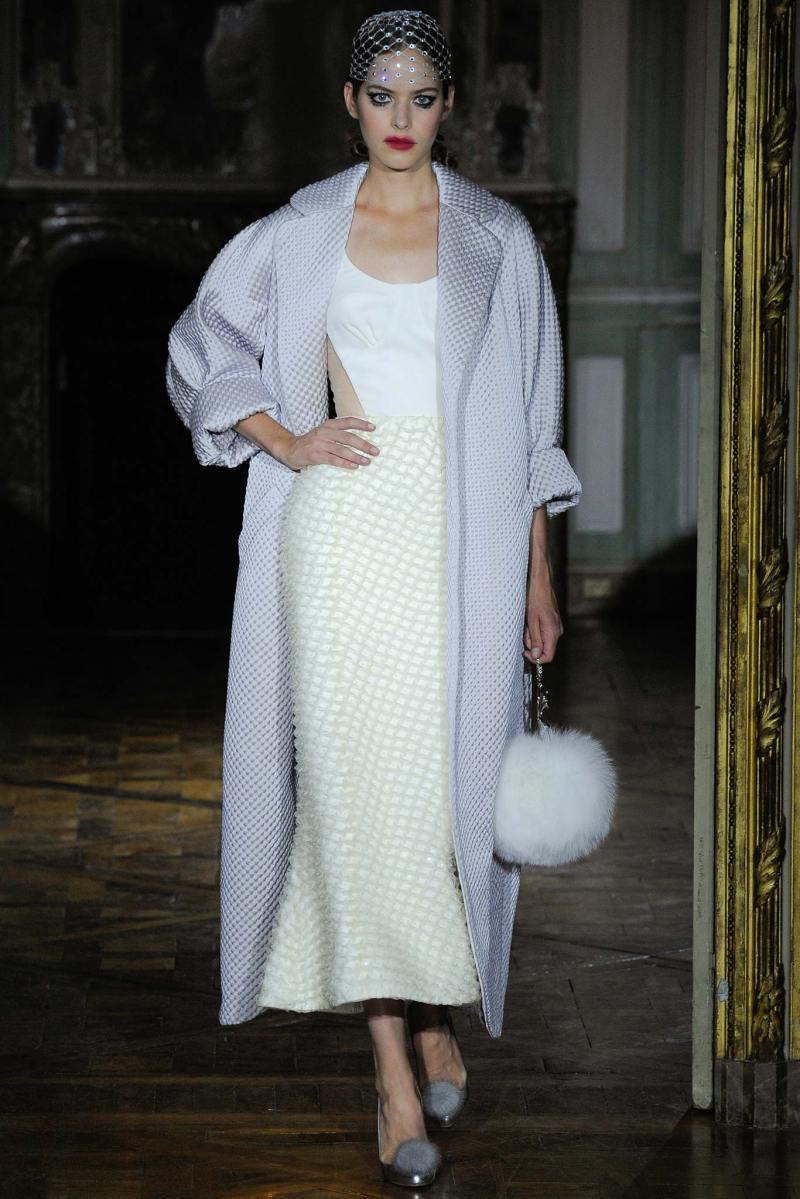 Ulyana Sergeenko Haute Couture FW 2015 Paris (16)