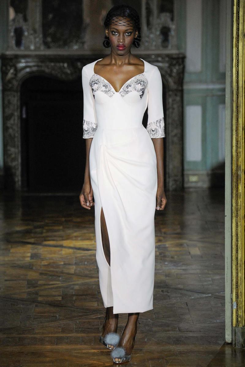 Ulyana Sergeenko Haute Couture FW 2015 Paris (18)