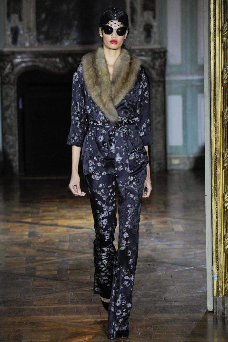 Ulyana Sergeenko Haute Couture FW 2015 Parigi (20)