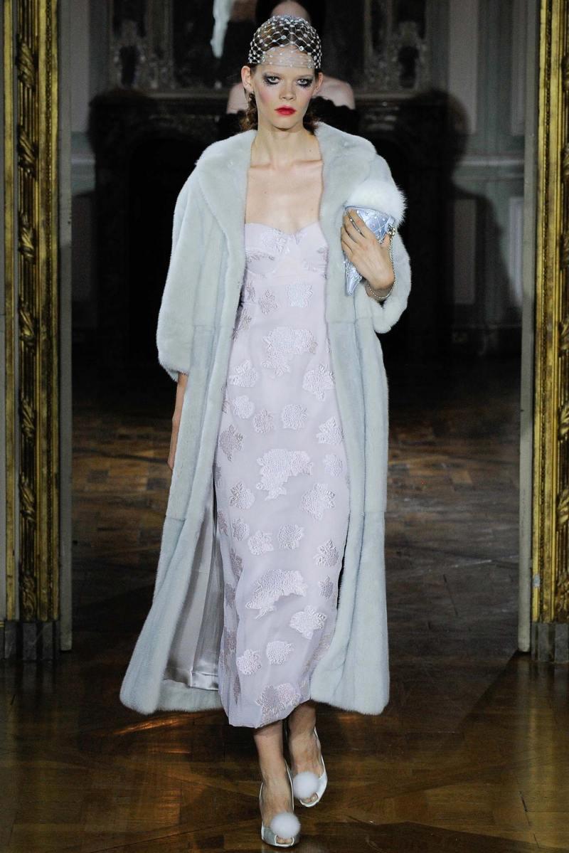 Ulyana Sergeenko Haute Couture FW 2015 Parigi (26)