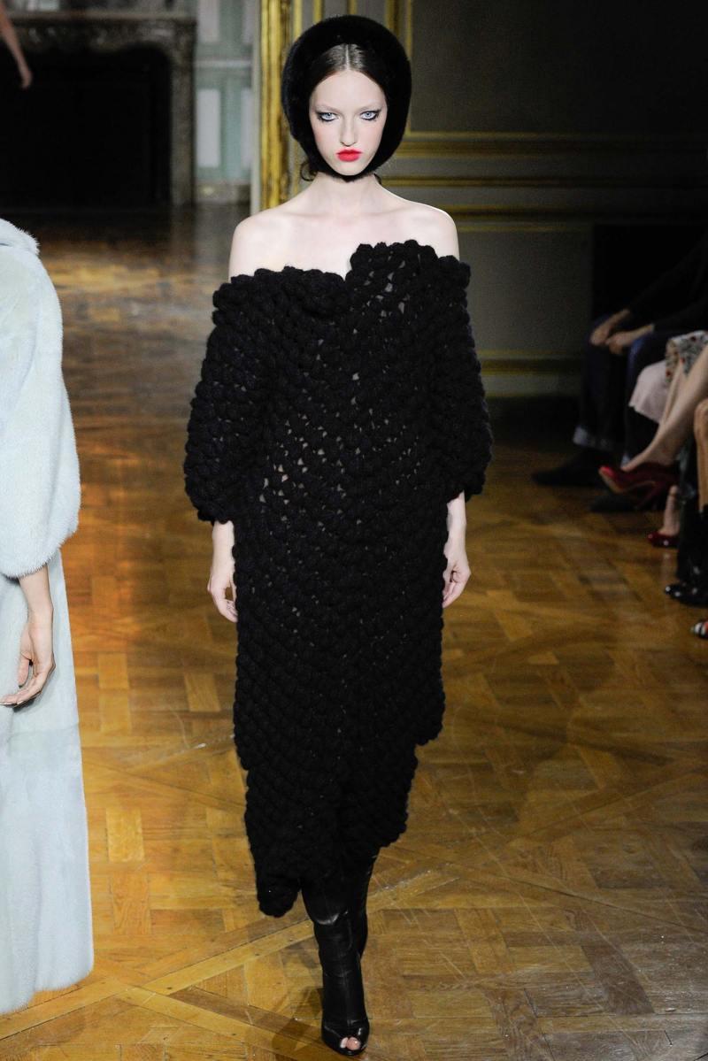 Ulyana Sergeenko Haute Couture FW 2015 Paris (27)