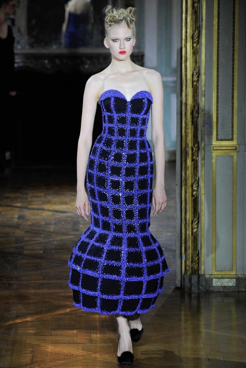 Ulyana Sergeenko Haute Couture FW 2015 Paris (3)