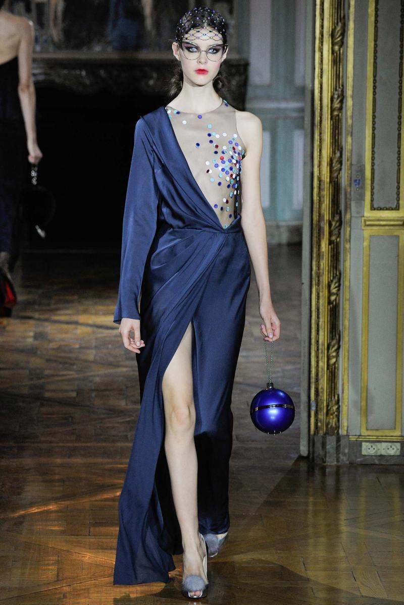 Ulyana Sergeenko Haute Couture FW 2015 Parigi (30)