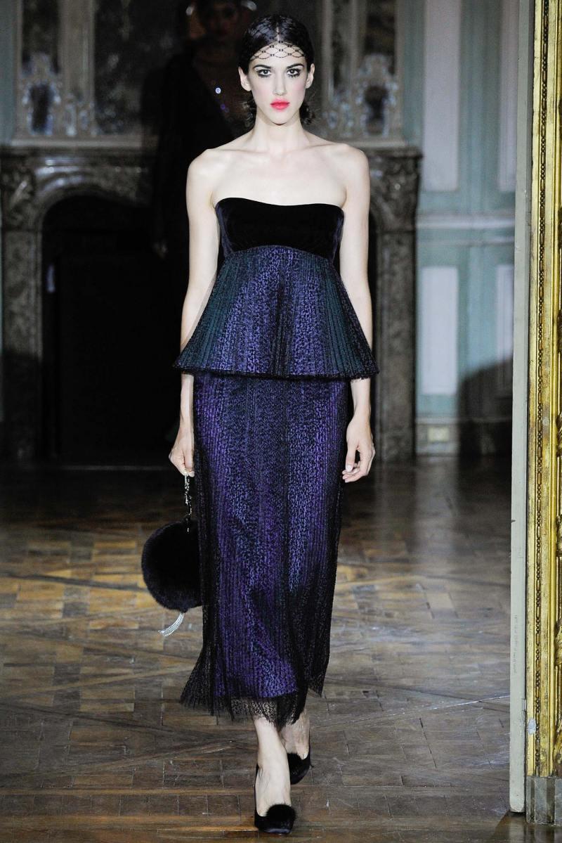 Ulyana Sergeenko Haute Couture FW 2015 Paris (31)