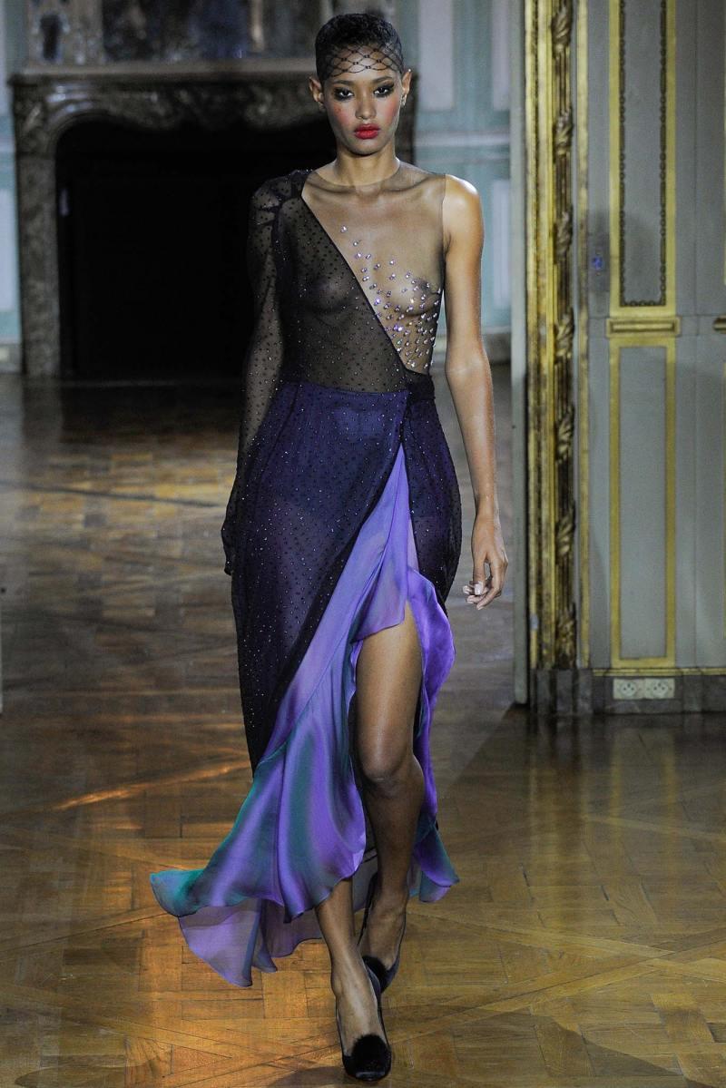 Ulyana Sergeenko Haute Couture FW 2015 Paris (32)