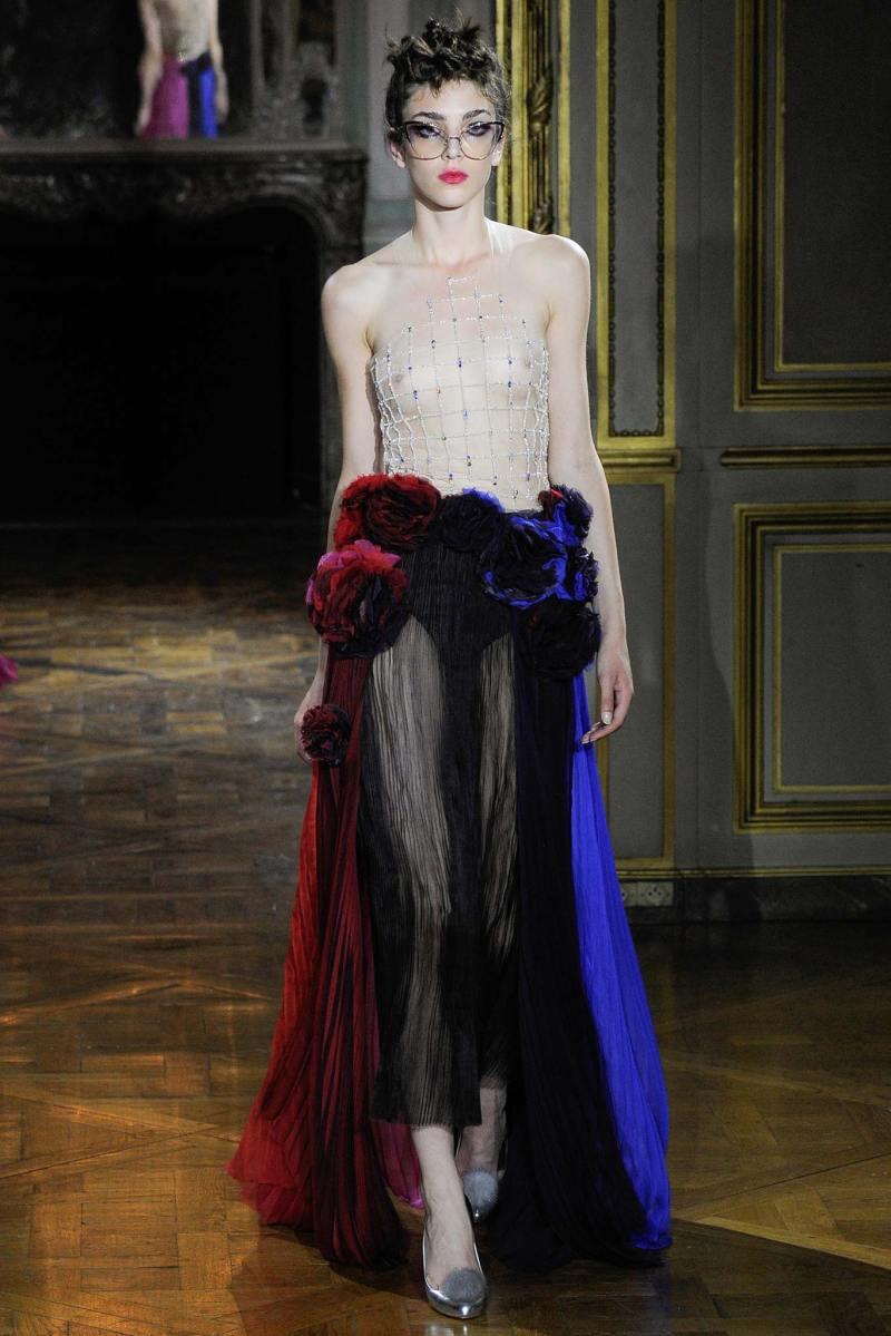 Ulyana Sergeenko Haute Couture FW 2015 Parigi (38)