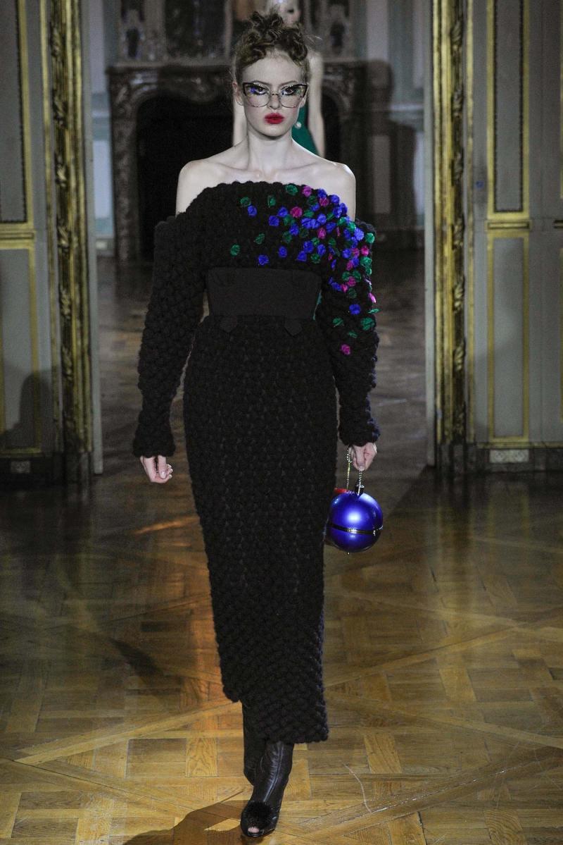Ulyana Sergeenko Haute Couture FW 2015 Paris (4)
