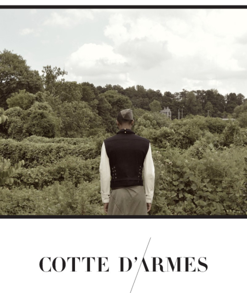 Cotte D'Armes Homme SS16 Look Book-1
