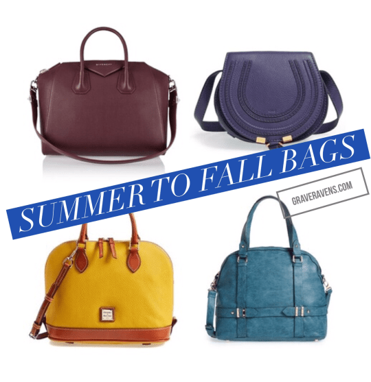 graveravens fall to winter bags