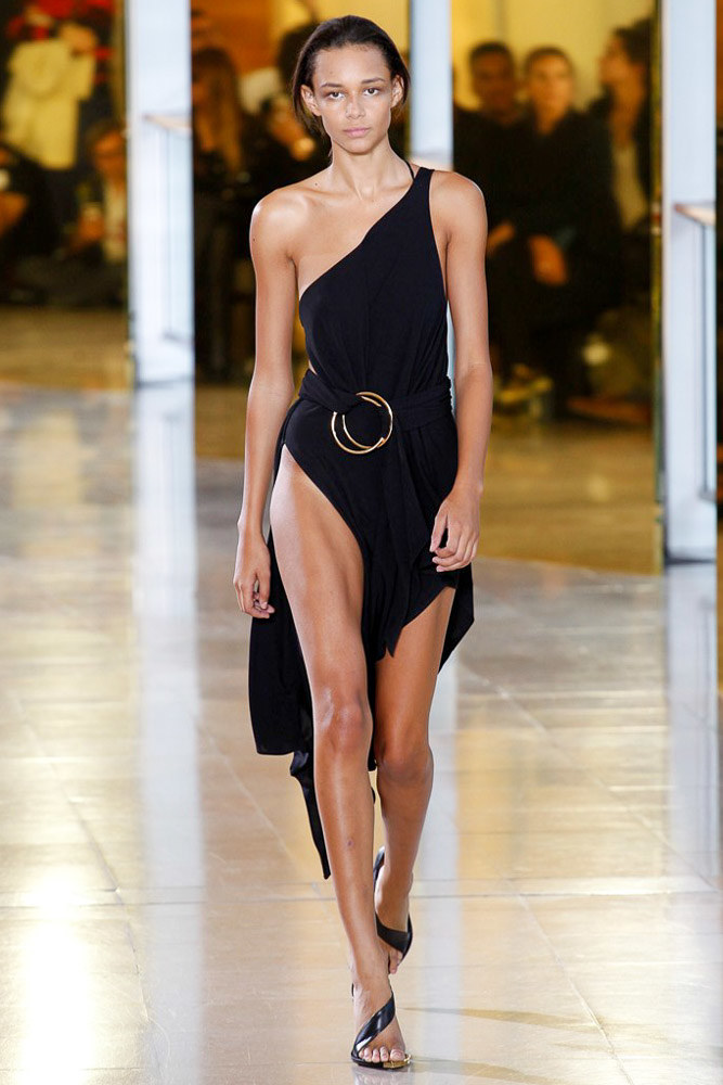 Anthony Vaccarello Ready To Wear SS 2016 PFW (29)