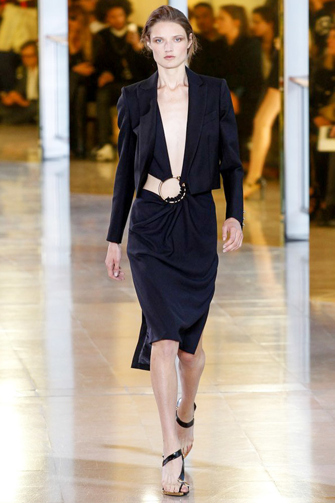 Anthony Vaccarello Ready To Wear SS 2016 PFW (36)