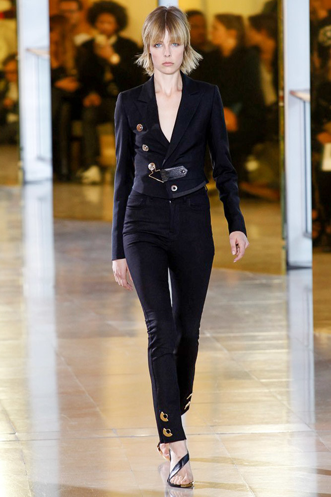 Anthony Vaccarello Ready To Wear SS 2016 PFW (37)