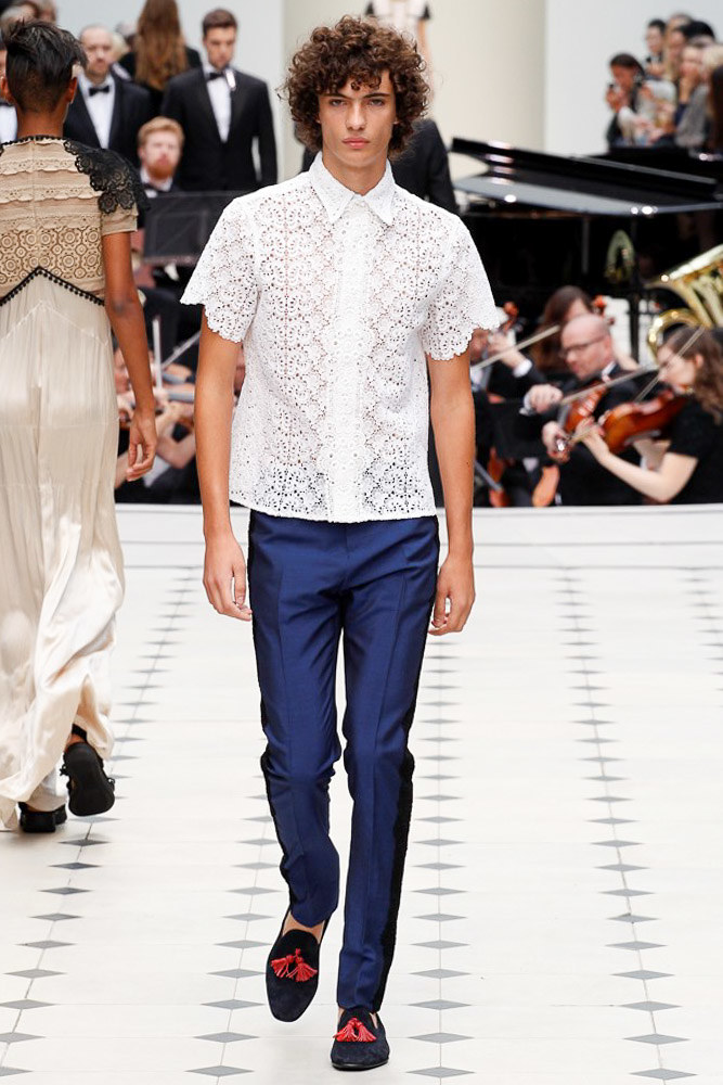 Burberry Prorsum Ready To Wear SS 2016 LFW (44)