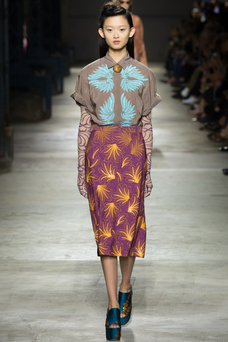 Dries Van Noten Ready To Wear SS 2016 PFW (11)