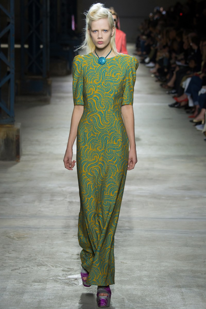 Dries Van Noten Ready To Wear SS 2016 PFW (21)