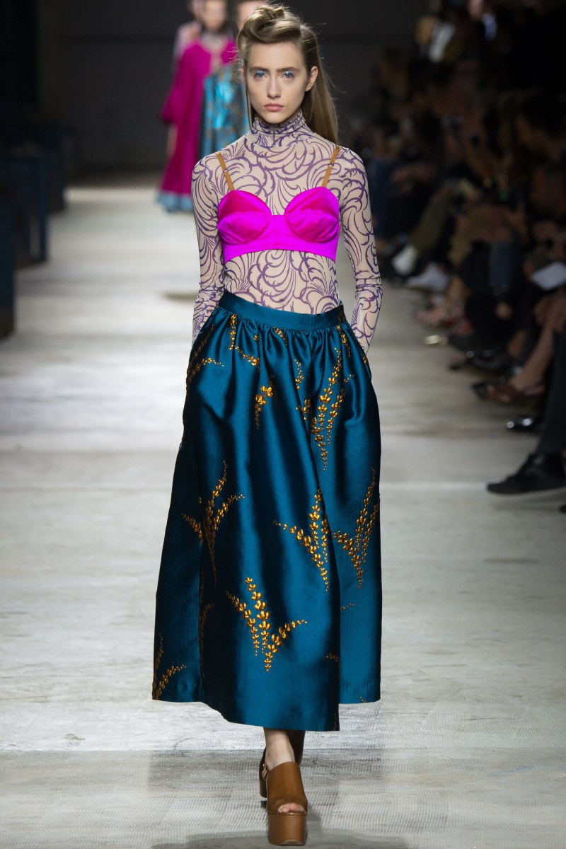 Dries Van Noten Ready To Wear SS 2016 PFW (4)