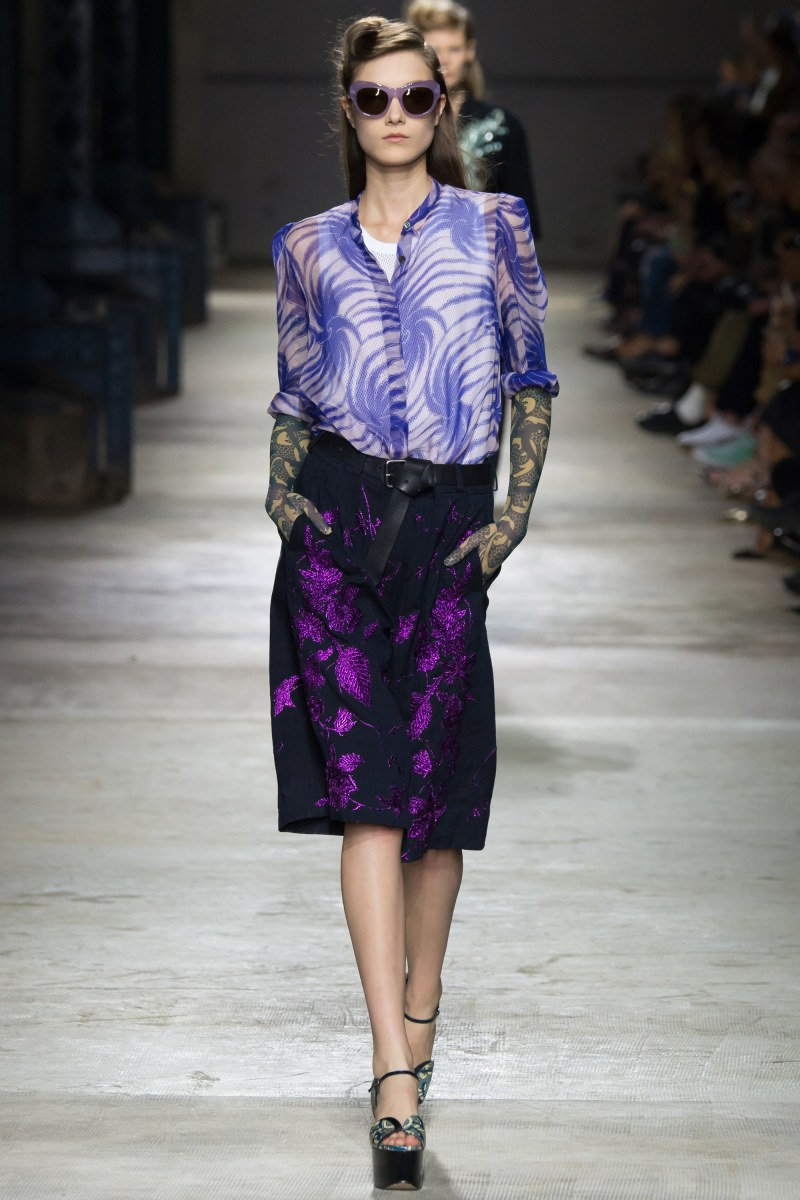Dries Van Noten Ready To Wear SS 2016 PFW (46)