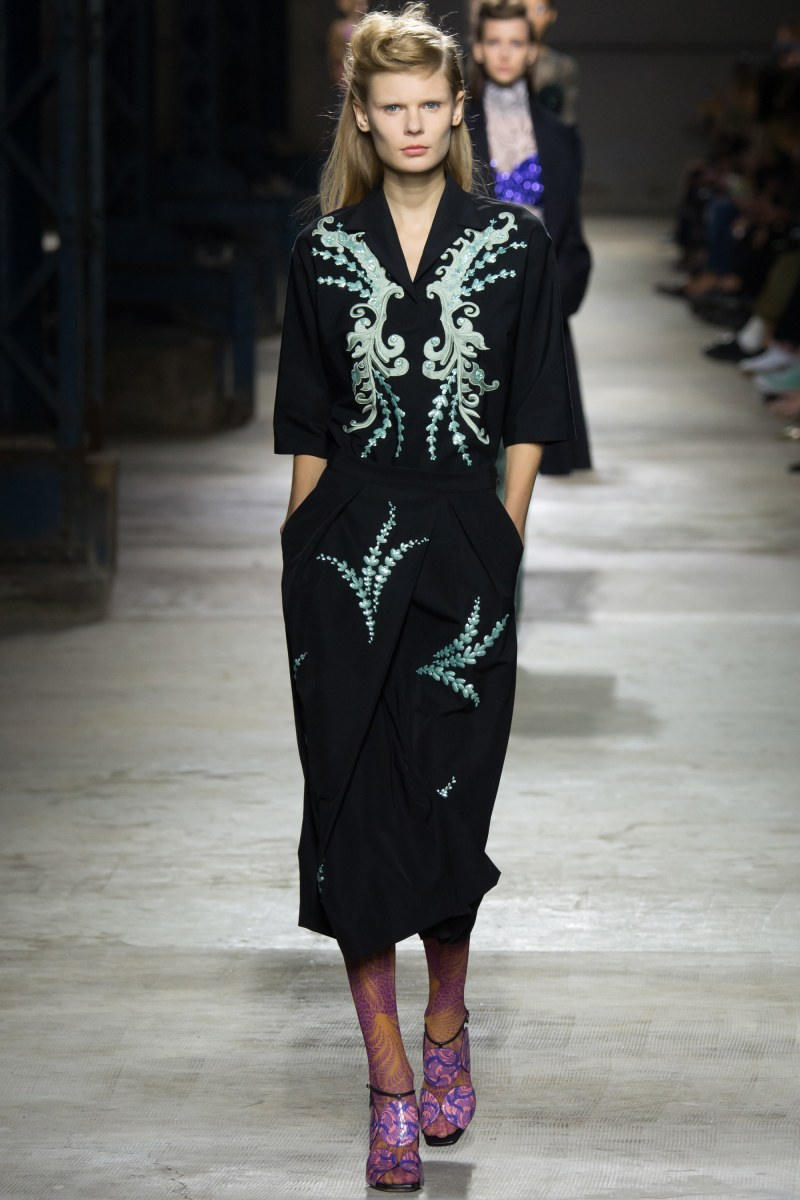 Dries Van Noten Ready To Wear SS 2016 PFW (47)