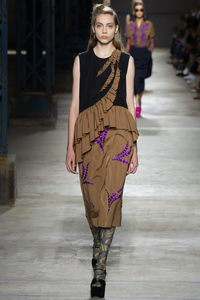 Dries Van Noten Ready To Wear SS 2016 PFW (50)