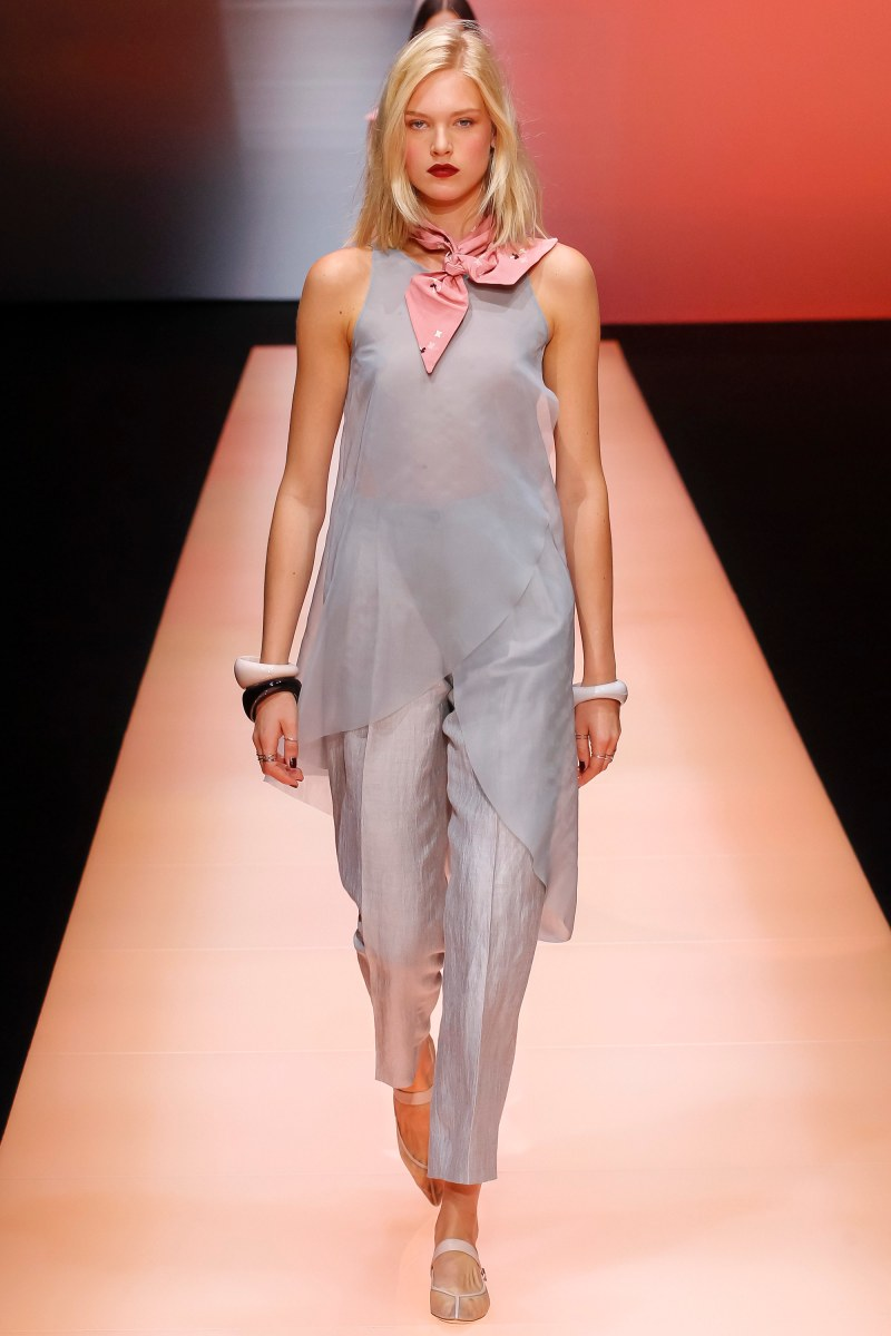 Emporio Armani Ready To Wear SS 2016 MFW (61)