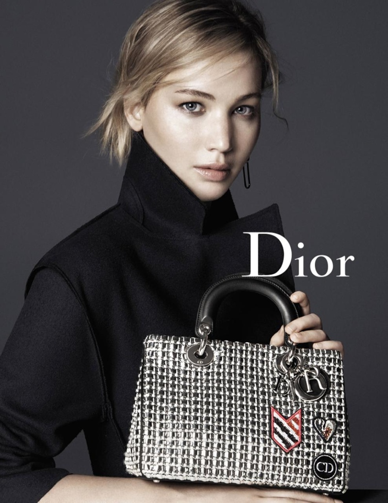 Jennifer Lawrence in Dior's Latest Handbag Campaign